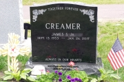 our headstones for Lakeside Cemetery