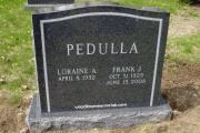 pedulla headstone - Woodbrook Cemetery, Woburn, MA