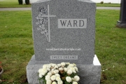 Ward headstone - Danvers Massachusetts