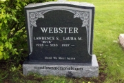webster tombstone Wood End Cemetery
