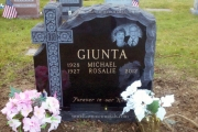 companion headstone - Holy Cross cemetery