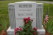 3 x 3 headstone in Swampscott Cemetery