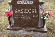 double grave headstone design - Oak Grove Cemetery, Medford, MA