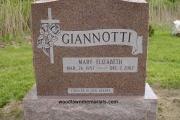 mountain rose color headstone - Wilmington, MA