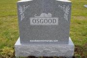 Headstone with sandblast cat