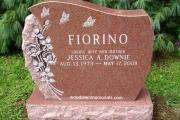 upright headstone - Wakefield, MA cemetery