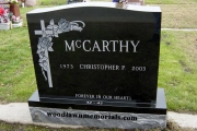 Woodlawn Memorial - double lot headstone designs