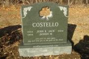 Irish headstone - Forest Glade Cemetery, Wakefield, MA
