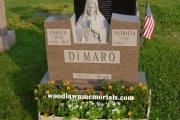 Blessed Mother design - Forest Dale Cemetery, Malden, MA
