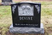 holy family gravestone - Oak Grove Cemetery, Medford Ma