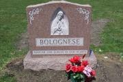 Blessed Mother headstone, Swampscott