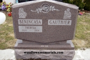 unique shape companion headstones