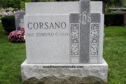 double size headstone