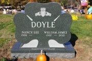Irish gravestone design - wyoming cemetery