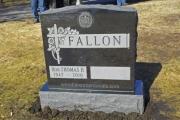 Fallon gravestone - Forest Dale Cemetery