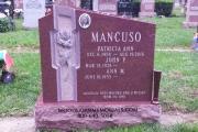 family headstones for 2 graves
