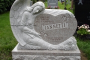 Angel headstone - Wood End Cemetery, Reading, MA