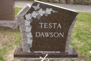 testa family headstone - Woodlawn Cemetery, Everett