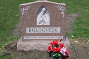 Blessed Mother headstone, Swampscott