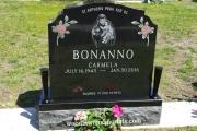 double grave monument - Fox Hill Cemetery, Billerica, MA