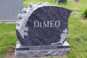 DiMeo headstone - Wildwood Cemetery