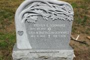 tree shaped headstone - Andover, MA