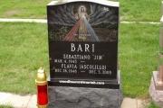 Catholic headstone design - Holy Cross Cemetery, Malden