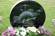 our custom hand etched monument designs erected in Riverside Cemetery, Saugus, MA