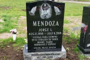 Personalized custom monument for one person