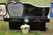 Monu-bench - Wildwood Cemetery