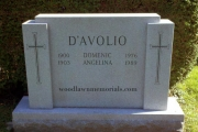 unpolished gravestone designs