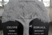tree headstone - Hamilton Massachusetts