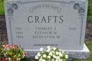Barre Vermont Granite in Memo Finish
