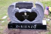 Angel headstone - Lakeside Cemetery