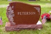 family headstone, erected in Boxford, MA