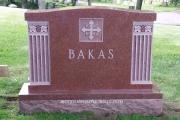 Baker headstone, Pine Grove Cemetery, Lynn, MA