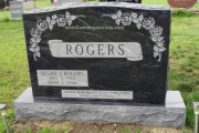 Rogers headstone, Wildwood Cemetery, Wilmington, MA