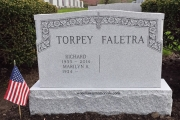 four foot gravestone for unpolished area