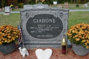 Our headstones erected in Riverside Cemetery, North Reading, MA