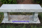 Rev. Daniel Kennedy Memorial Bench - Winthrop, MA
