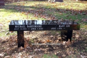 our memorial benches
