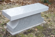 granite bench for yard
