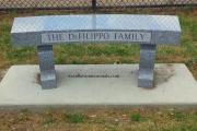 DeFilippo bench - Revere Dog Park