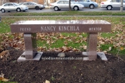 Memorial bench - Cambridge, MA