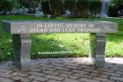 dedication bench - Weston, MA