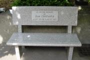 Memorial bench - Malden High School