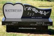 monument bench - Ridgewood Cemetery - Andover, MA