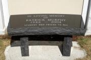dedication bench - Landmark school Beverly, MA