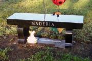 Monument bench - Wildwood Cemetery, Wilmington, MA