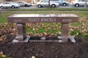 Memorial bench - Cambridge, MA